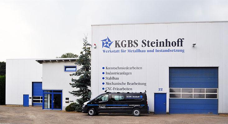 Gebäude von KGBS Steinhoff, Hagen - Metallbau und Instandsetzung